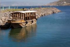 Barco en Mar de Galilea