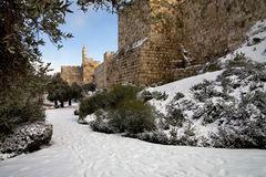 Nieve en Jerusalem,viajar a jerusalem