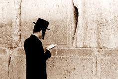 Ortodoxo en Muro de los Lamentos